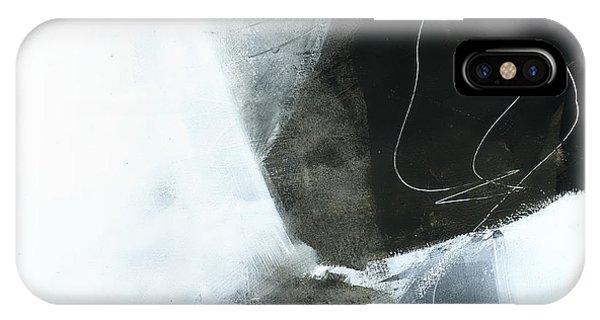 Panel iPhone Case - Land Line #2 by Jane Davies