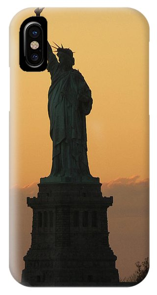 Land Of The Free And The Brave IPhone Case