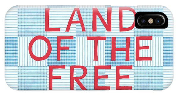 American iPhone Case - Land Of The Free by Linda Woods
