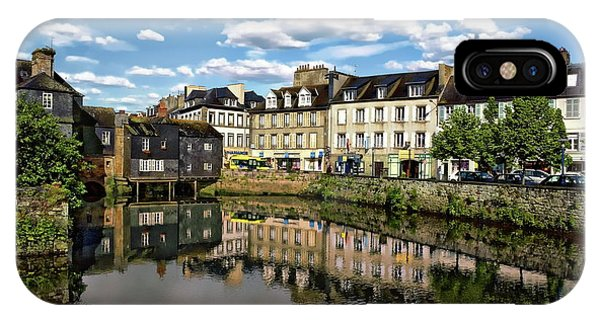 Landerneau Village View IPhone Case