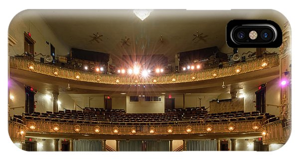 IPhone Case featuring the photograph Landers Theatre by Allin Sorenson