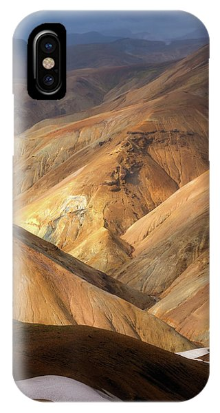 Layer iPhone Case - Landmannalaugar by Tor-Ivar Naess