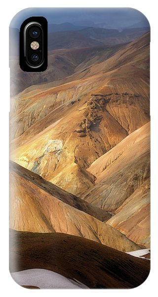 Landmannalaugar IPhone Case