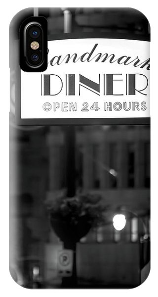 Landmark Diner IPhone Case