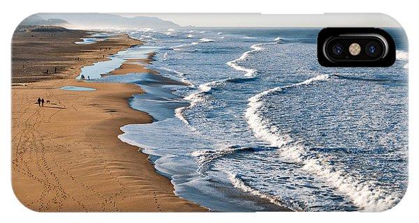 Lands End Beach IPhone Case