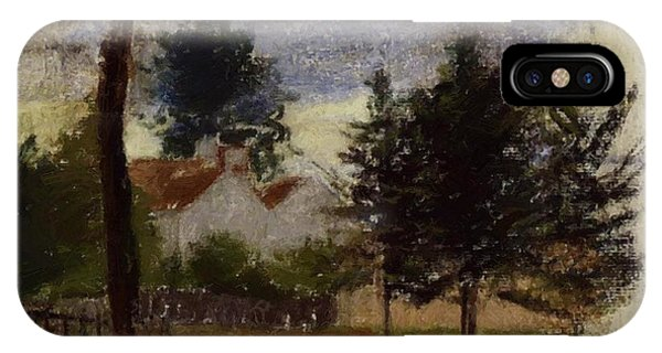 Landscape At Louveciennes IPhone Case