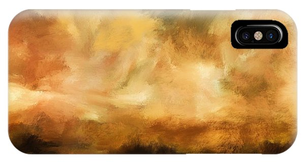 Landscape At Sunset IPhone Case