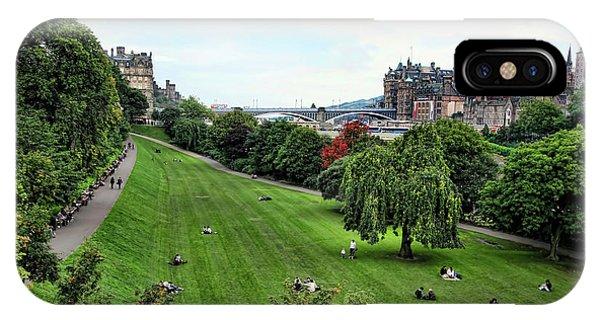 Landscape Edinburgh  IPhone Case