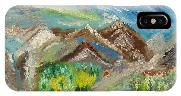 Landscape. Imagination 24. IPhone Case