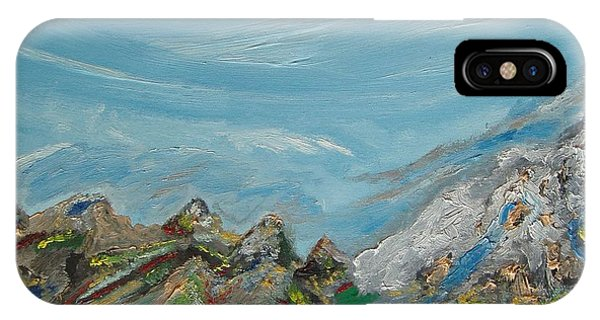 Landscape. Imagination. IPhone Case