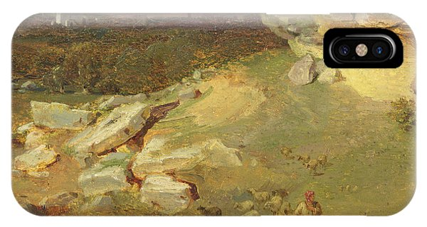 Bucolic iPhone Case - Landscape Near Corinth by Carl Rottmann