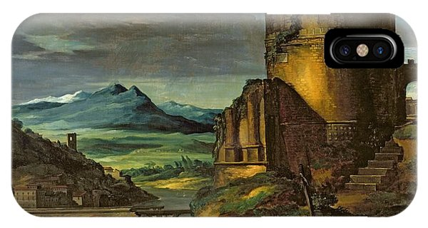 Landscape With A Tomb  IPhone Case
