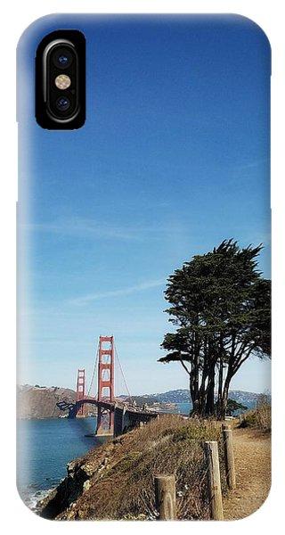 Landscape With Golden Gate Bridge IPhone Case