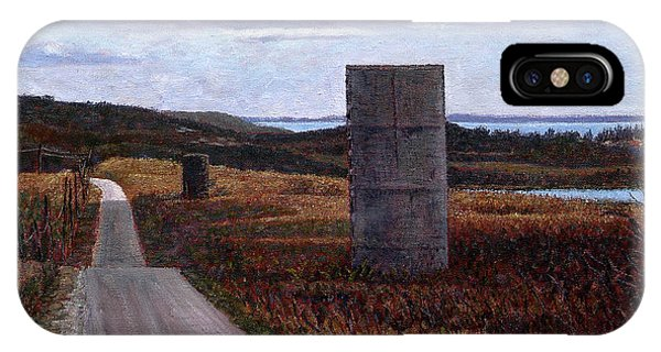 Landscape With Silos IPhone Case