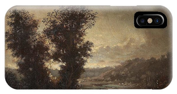 Landscape With Travellers IPhone Case
