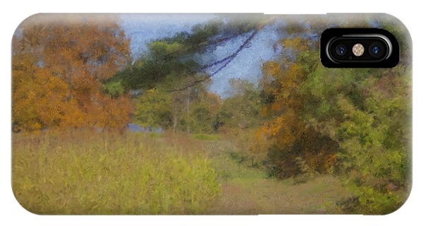 Langwater Farm Tractor Path IPhone Case