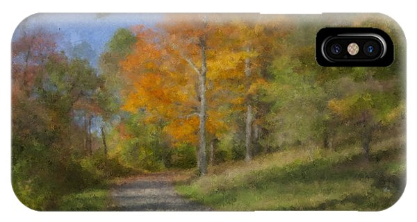 Langwater Path In October IPhone Case