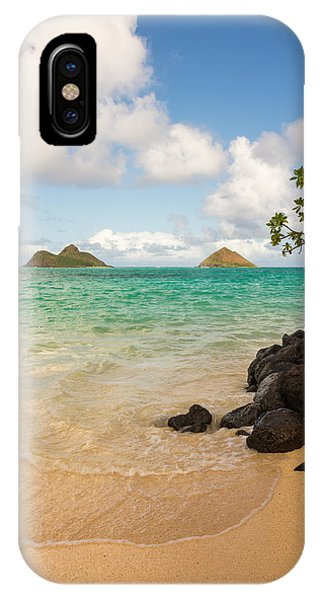 Famous Artist iPhone Case - Lanikai Beach 1 - Oahu Hawaii by Brian Harig