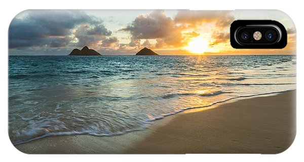 Lanikai Beach Sunrise 2 IPhone Case