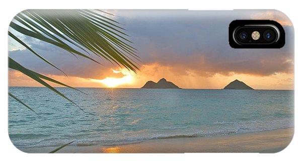 Lanikai Sunrise IPhone Case