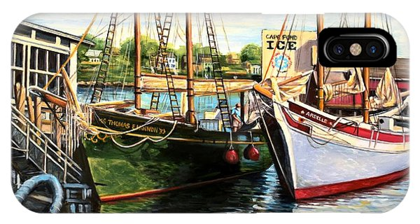 Lannon And Ardelle Gloucester Ma IPhone Case
