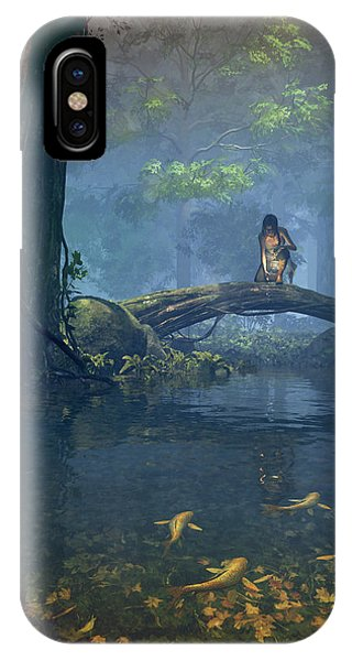 Lantern Bearer IPhone Case