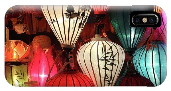 Lanterns Colors Hoi An IPhone Case