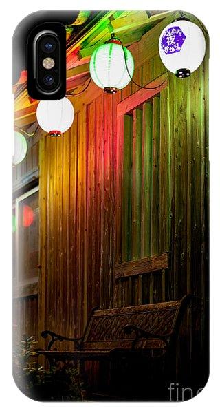 Lanterns Light The Bench IPhone Case