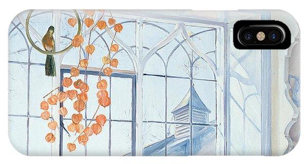 Parakeet iPhone Case - Lanterns by Timothy Easton