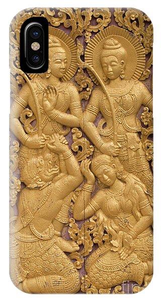 Laos_d59 IPhone Case