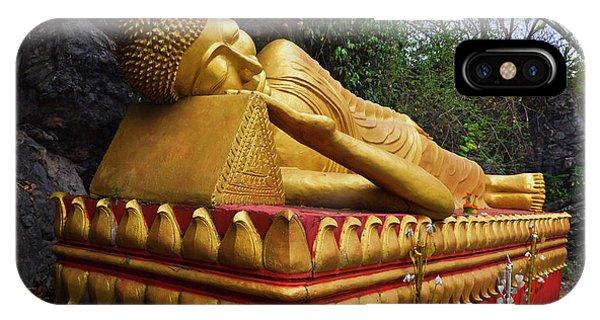 Laos_d602 IPhone Case