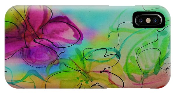 Large Flower 2 IPhone Case