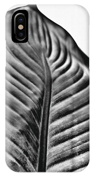 Large Leaf IPhone Case