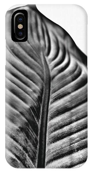 Large Leaf IPhone Case
