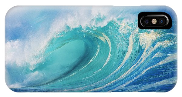 Large Wave Curling IPhone Case