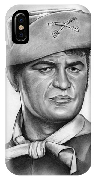 1960s iPhone Case - Larry Storch by Greg Joens