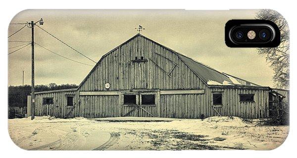 Larsen Road Barn IPhone Case