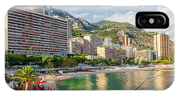 Condo iPhone Case - Larvotto Beach In Monaco by Elena Elisseeva