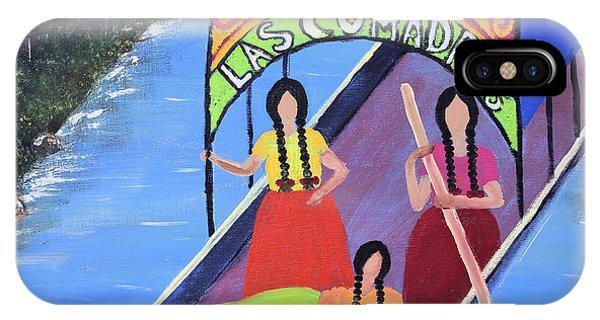 Las Comadres En Xochimilco IPhone Case