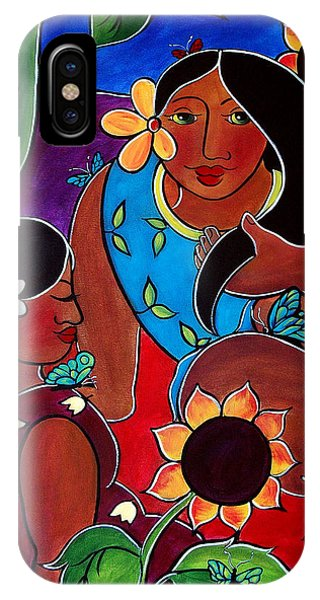 Las Mujeres  IPhone Case