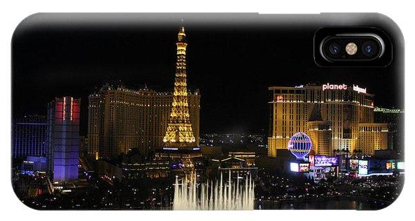 Las Vegas By Night IPhone Case