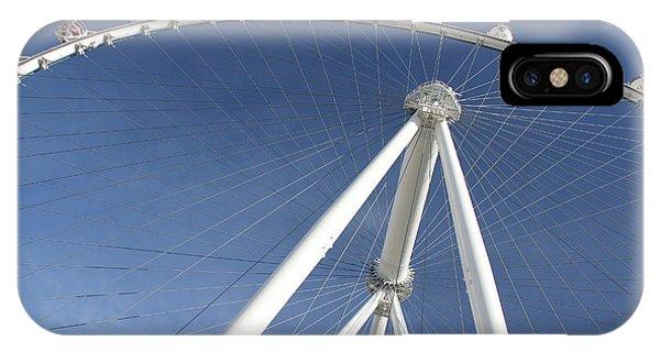 IPhone Case featuring the photograph Las Vegas High Roller by Wilko Van de Kamp