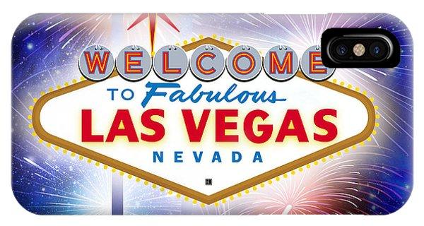 Las Vegas In Optima Forma IPhone Case