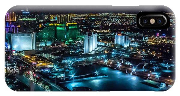 Las Vegas Looking North IPhone Case