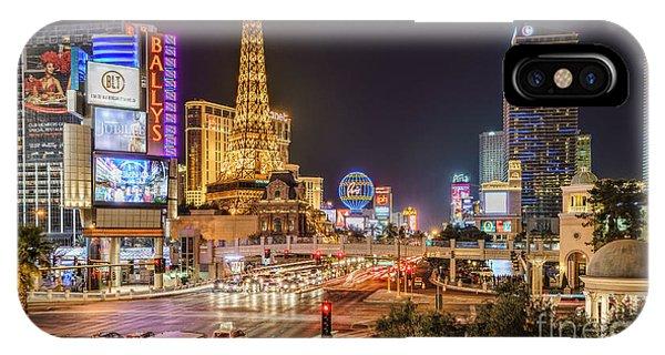 Las Vegas Strip Paris IPhone Case
