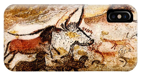 Lascaux Hall Of The Bulls IPhone Case