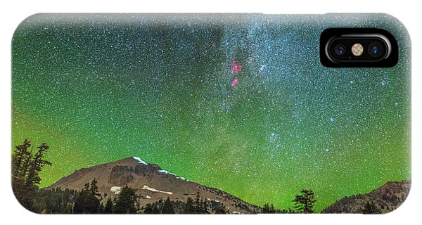 Lassen Nights IPhone Case