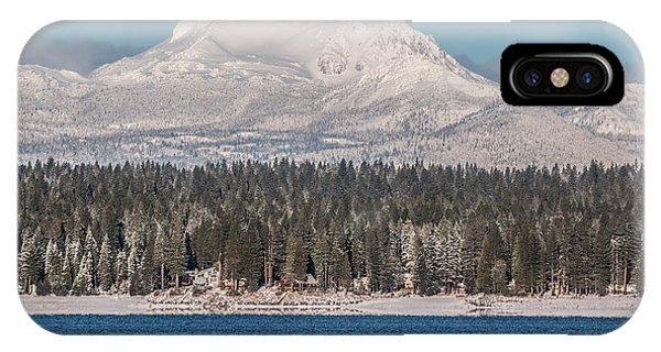 Lassen On Christmas Morning IPhone Case