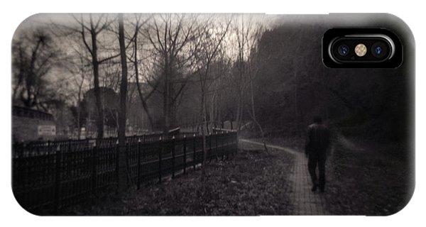 Surrealistic iPhone Case - Last Alone by Zapista Zapista