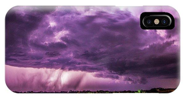 Nebraskasc iPhone Case - Last Chace Lightning For 2017 006 by NebraskaSC